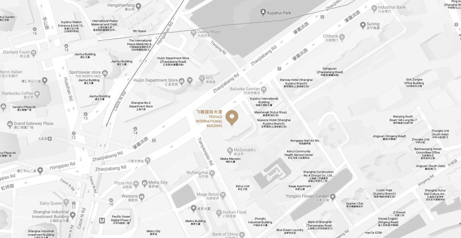 上海本社へのアクセス